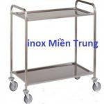 TBI Miền Trung sản xuất - cung cấp xe đẩy 2 bánh, thiết bị inox cho nhà bếp