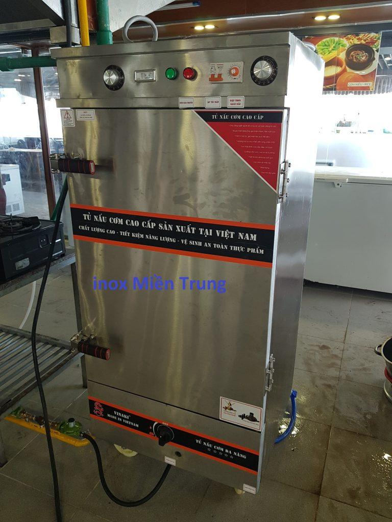 TBI Miền Trung chuyên sản xuất tủ cơm công nghiệp bằng inox cao cấp