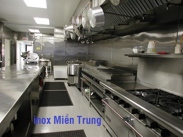 Thiết kế bếp công nghiệp cho nhà hàng, khách sạn